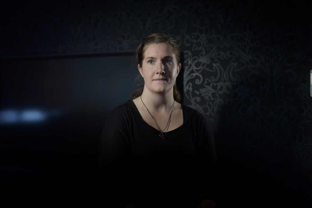 Charlotte Ahlin, Tungelsta. Foto: Stefan Mattsson