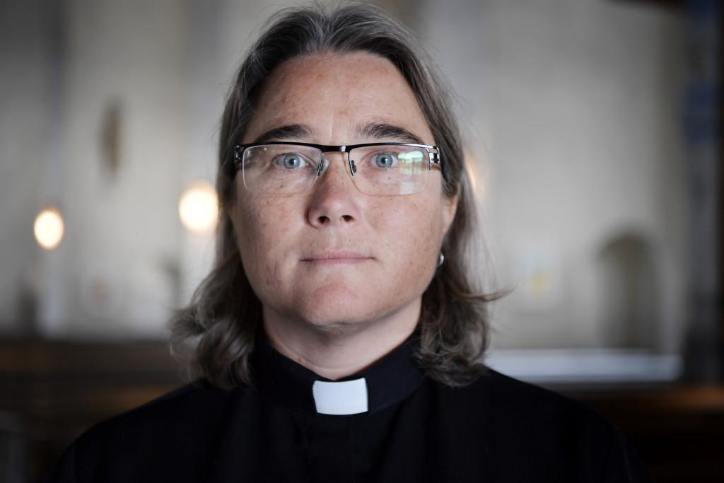 Gunilla Lindén, präst. Foto: Stefan Mattsson